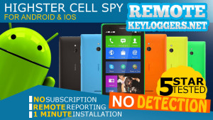 Cell Phone keylogger for Android