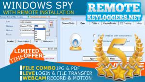 Windows Spy Keylogger for PC