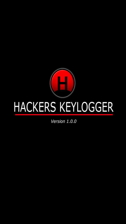 the hackers keylogger